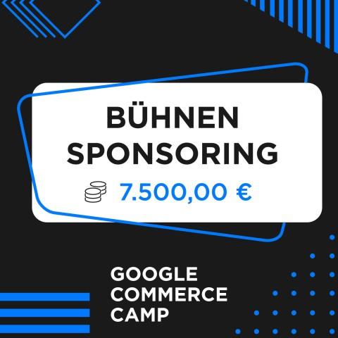 Google Commerce Camp Bühnen-Sponsor 1