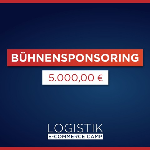 Logistik E-Commerce Camp Bühnen-Sponsor 1