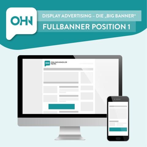 Display Ad: Fullbanner Position 1 (statisch) 1