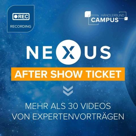 NEXUS – After Show Ticket 1