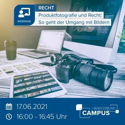 Produktfotografie und Recht: So geht der Umgang mit Bildern 1