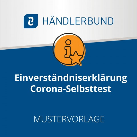 Einverständniserklärung Corona-Test (Mustervorlage) 1