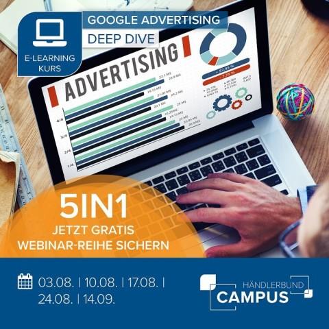 Google Advertising (5-teilig) 1