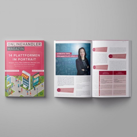 2018 Onlinehändler Magazin: Sonderausgabe Marktplätze (Printheft) 1