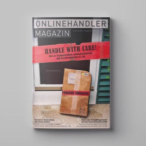 09/2018 Onlinehändler Magazin: Handle with Care! (Printheft) 1