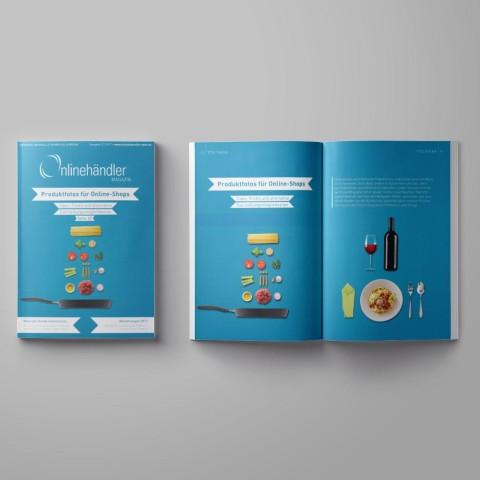 12/2017 Onlinehändler Magazin: Produktfotos für Online-Shops (Printheft) 1