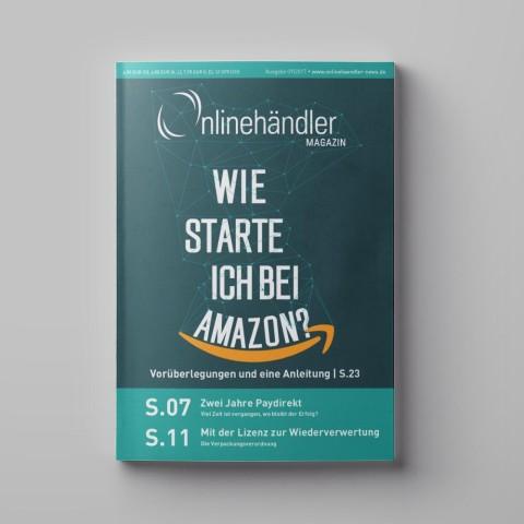 09/2017 Onlinehändler Magazin: Wie starte ich bei Amazon? (Printheft) 1