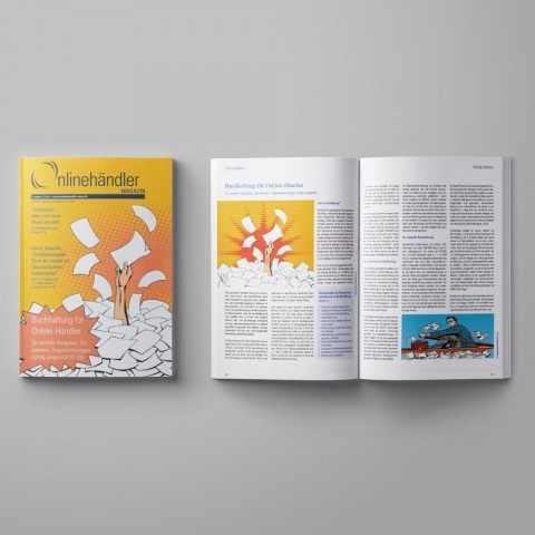 12/2016 Onlinehändler Magazin: Buchhaltung für Online-Händler (Printheft) 1