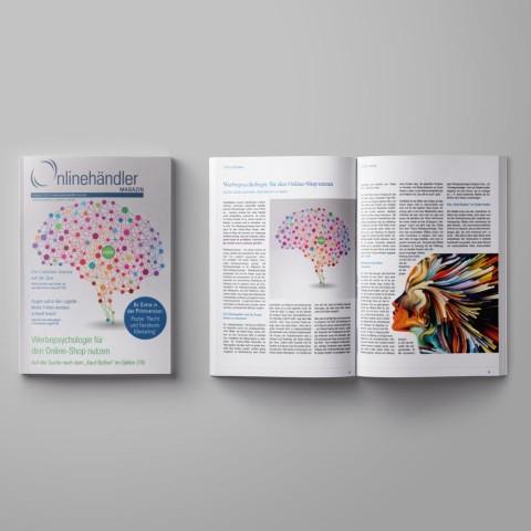 10/2016 Onlinehändler Magazin: Werbepsychologie für den Onlineshop nutzen (Printheft) 1