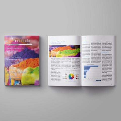 07/2016 Onlinehändler Magazin: Farben im Online-Handel (Printheft) 1
