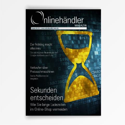 06/2016 Onlinehändler Magazin: Maßnahmen gegen lange Ladezeiten im Online-Shop (Printheft) 1