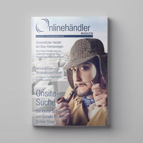 04/2016 Onlinehändler Magazin: Onsite-Suche im Online-Shop (Printheft) 1