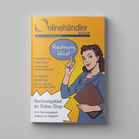 03/2016 Onlinehändler Magazin: Rechnungskauf im Online-Shop (Printheft) 1