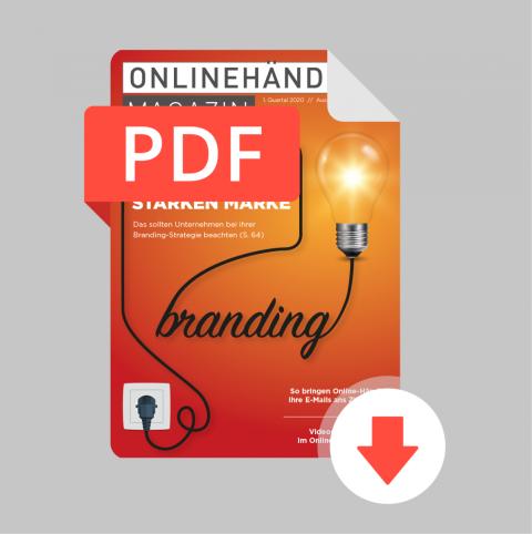 Q1/2020 Onlinehändler Magazin: Aufbau und Führung einer starken Marke (PDF) 1