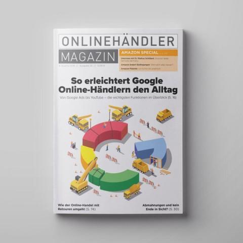 Q4/2019 Onlinehändler Magazin mit großem Amazon-Special (Printheft) 1