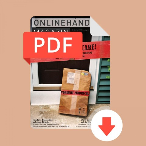 09/2018 Onlinehändler Magazin: Handle with Care! (PDF) 1