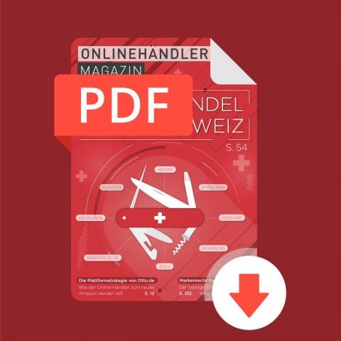 06/2018 Onlinehändler Magazin: Online-Handel in die Schweiz (PDF) 1