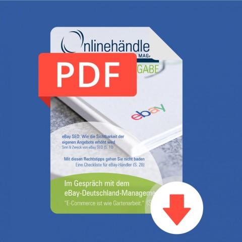 2017 Onlinehändler Magazin: eBay-Sonderausgabe (PDF) 1
