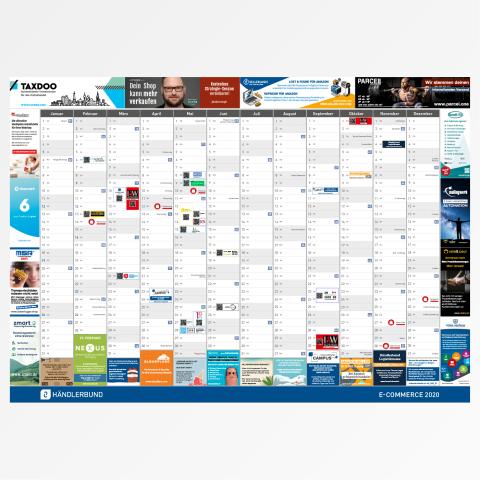 E-Commerce-Wandkalender 2020 1