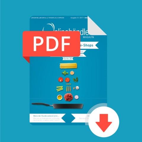 12/2017 Onlinehändler Magazin: Produktfotos für Online-Shops (PDF) 1