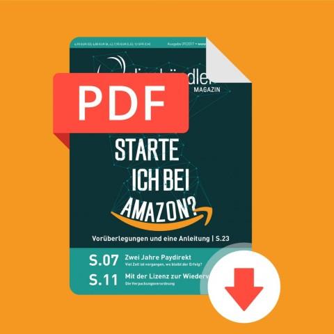 09/2017 Onlinehändler Magazin: Wie starte ich bei Amazon? (PDF) 1
