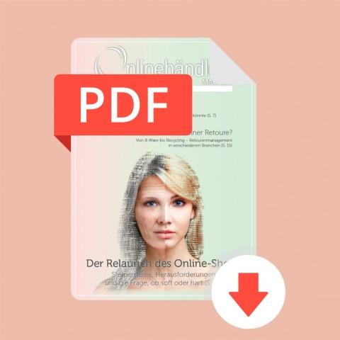 06/2017 Onlinehändler Magazin: Der Relaunch des Online-Shops (PDF) 1