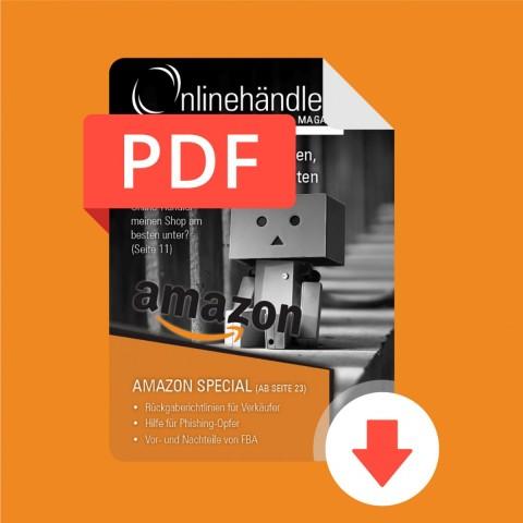 05/2017 Onlinehändler Magazin: Amazon Special (PDF) 1
