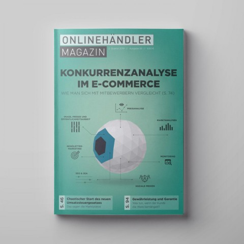 03/2019 Onlinehändler Magazin: Konkurrenzanalyse im E-Commerce (Printheft) 1