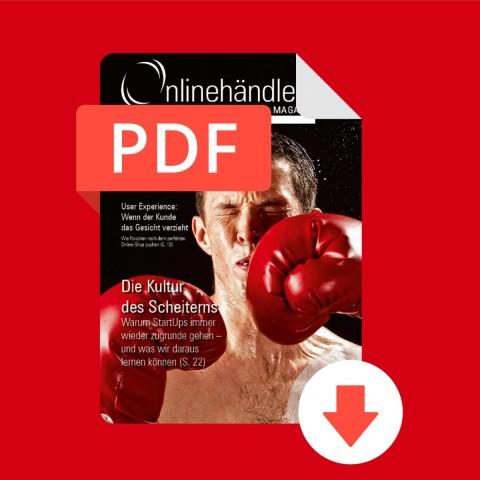 02/2017 Onlinehändler Magazin: Die Kultur des Scheiterns (PDF) 1