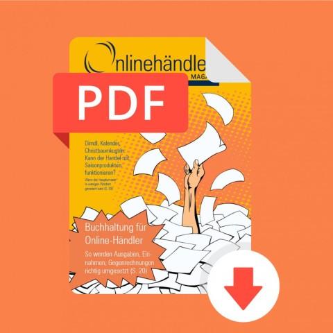 12/2016 Onlinehändler Magazin: Buchhaltung für Online-Händler (PDF) 1