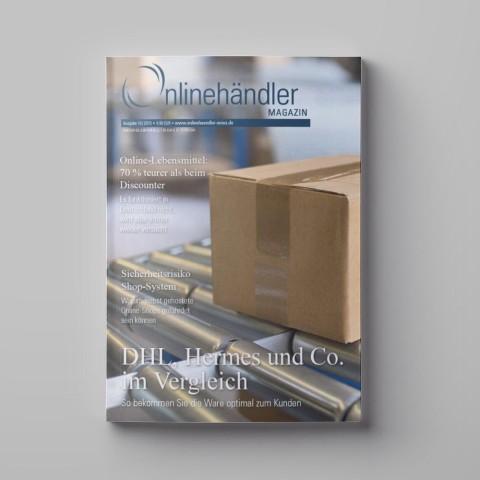 10/2015 Onlinehändler Magazin: DHL, Hermes und Co. im Vergleich (Printheft) 1