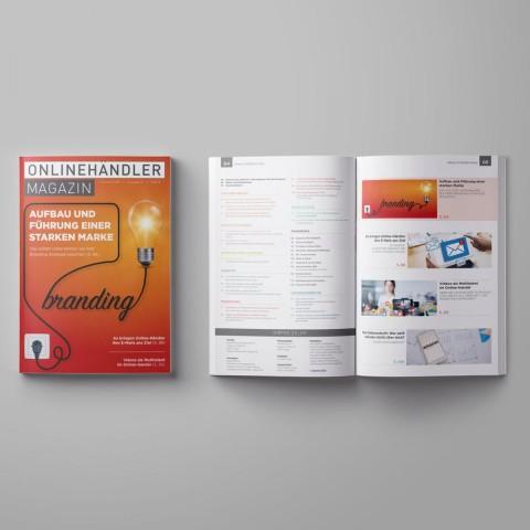 Q1/2020 Onlinehändler Magazin: Aufbau und Führung einer starken Marke (Printheft) 1