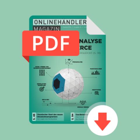03/2019 Onlinehändler Magazin: Konkurrenzanalyse im E-Commerce (PDF) 1