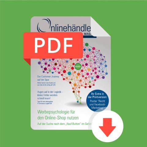 10/2016 Onlinehändler Magazin: Werbepsychologie für den Onlineshop nutzen (PDF) 1