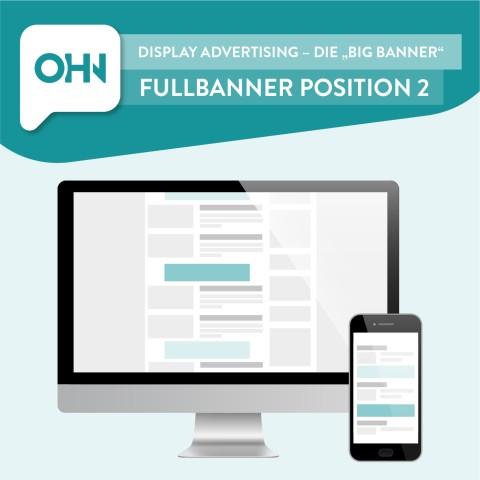 Display Ad: Fullbanner Position 2 (statisch) 1