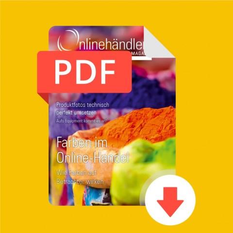 07/2016 Onlinehändler Magazin: Farben im Online-Handel (PDF) 1