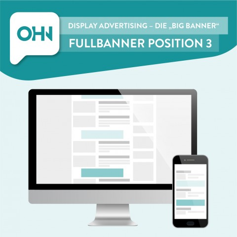 Display Ad: Fullbanner Position 3 (statisch) 1