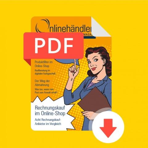 03/2016 Onlinehändler Magazin: Rechnungskauf im Online-Shop (PDF) 1