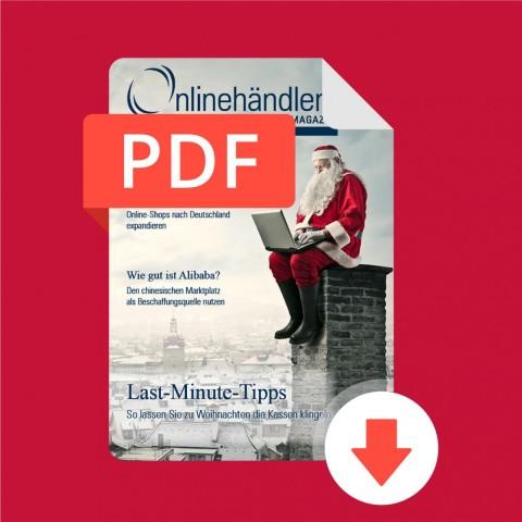 12/2015 Onlinehändler Magazin: Last Minute Tipps (PDF) 1
