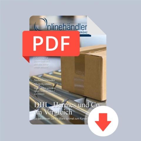 10/2015 Onlinehändler Magazin: DHL, Hermes und Co. im Vergleich (PDF) 1