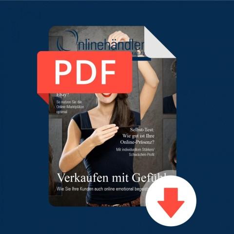 09/2015 Onlinehändler Magazin: Verkaufen mit Gefühl (PDF) 1