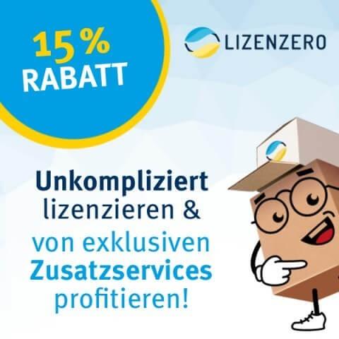 Partnerangebot: Sparen Sie 15% bei Ihrer Verpackungslizenzierung von Lizenzero 1