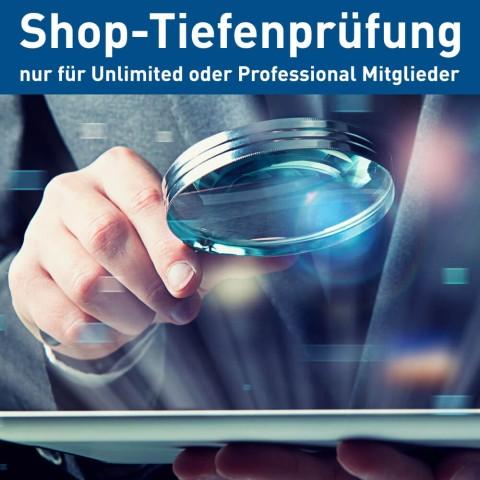 Zusätzliche Händlerbund Shop-Tiefenprüfung 1