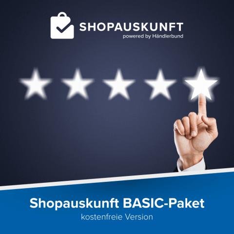 Shopauskunft.de: Basic-Paket 1