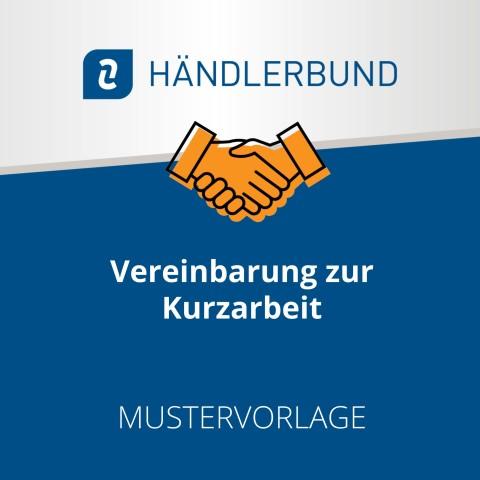 Vereinbarung zur Kurzarbeit (Mustervorlage) 1