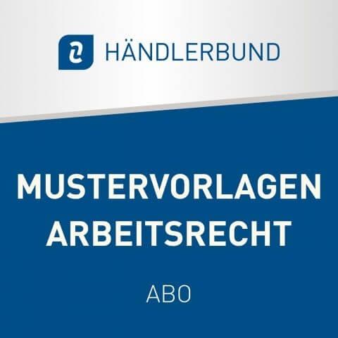 Abo Mustervorlagen Arbeitsrecht für Unlimited und Professional Mitglieder 1