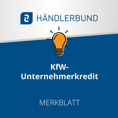 KfW-Unternehmerkredit (Merkblatt) 1