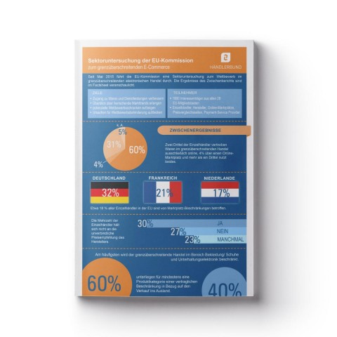 EU-Untersuchung zum grenzüberschreitenden E-Commerce (Infografik) 1