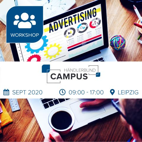 Workshop: Amazon SEO, Werbeanzeigen und FBA 03.-04.09.2020 | Leipzig (Ticket für Onlinehändler) 1