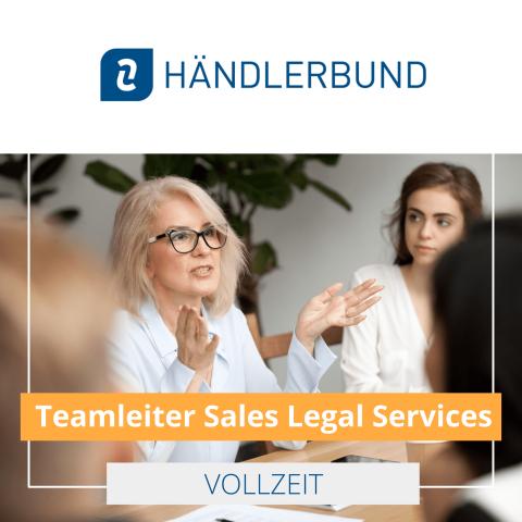 Teamleiter Sales Legal Services (m/w/d) in Leipzig 1